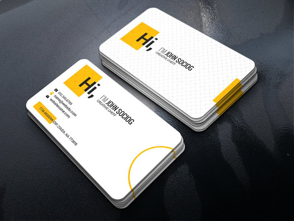 Professional Chef Business Card Design