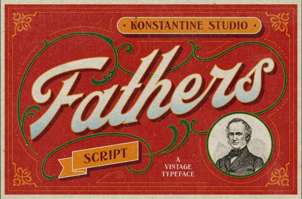 Vintage Old Lettering Font