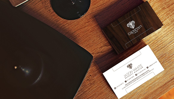 Wooden Business Card Templates