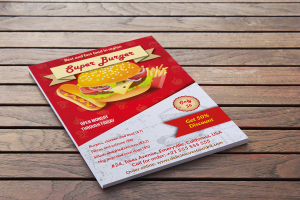 Fast Advertising Flyer Template
