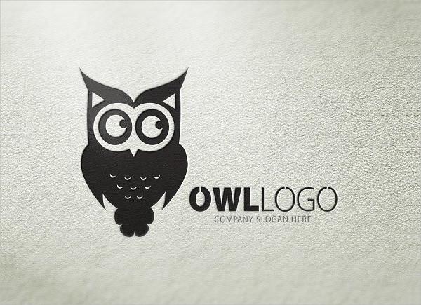 Logo with an Owl