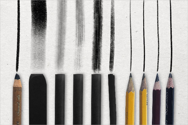Pencil & Charcoal Procreate Brush Collection