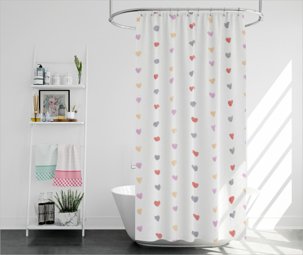 Best Bath Curtain Mockups Pack