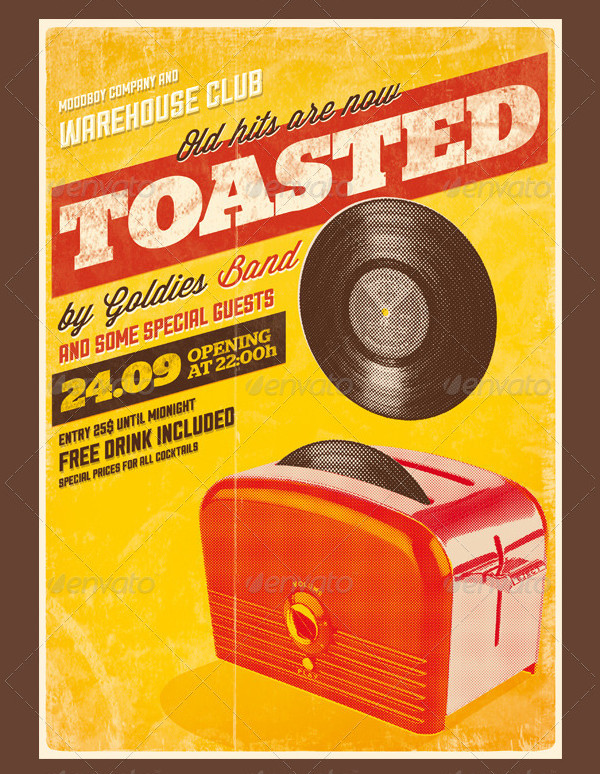 Toasted Vintage Posters
