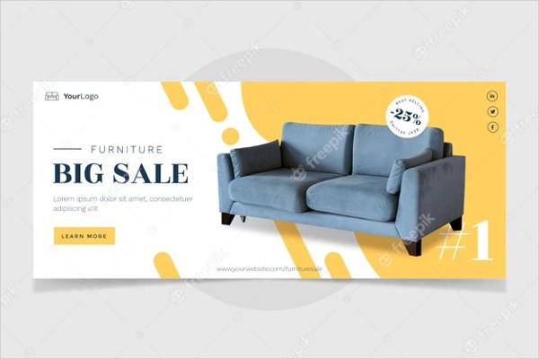 Furniture Sale Banner Design Free Download