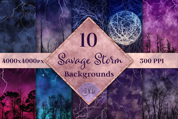Savage Storm Backgrounds