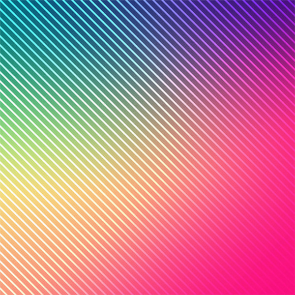 Abstract Bright Colorful Lines Background Free Vector