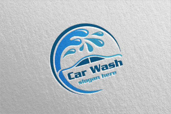 Car Cleaning Business Logo Template