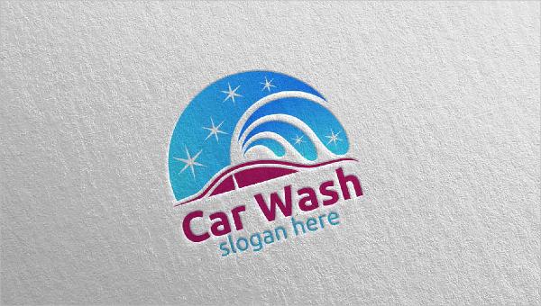 Car Wash Logo Templates