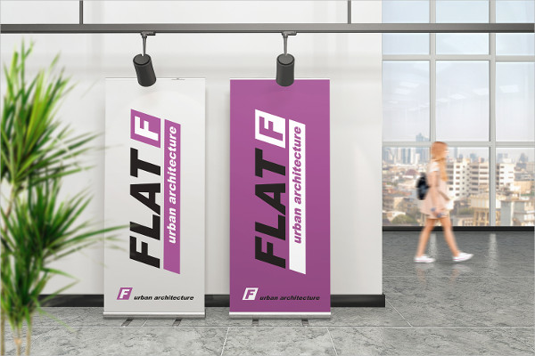 Cool Roll Up Banner Mockups