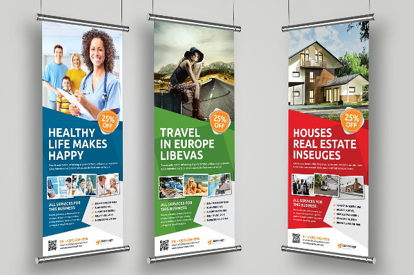 Multipurpose Roll up Banner Signage