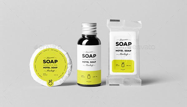Beautiful Soap Mock-Up Design