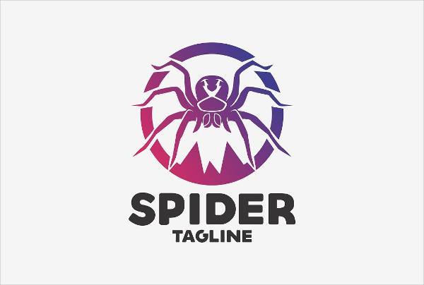 Spider Branding Logo Template