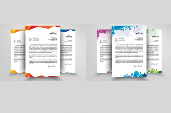Custom Business Letterheads Bundle