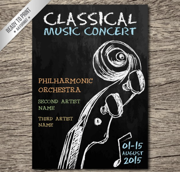 Classical Music Concert Poster Free