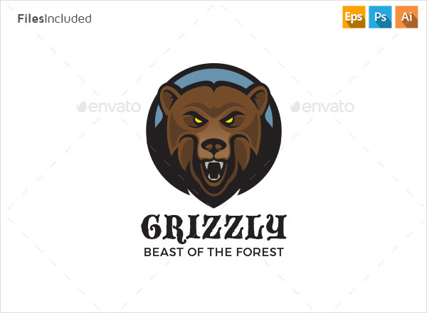 Creative Bear Logo Design