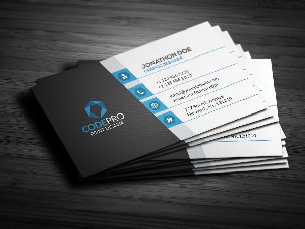 Stylish Business Card Photoshop