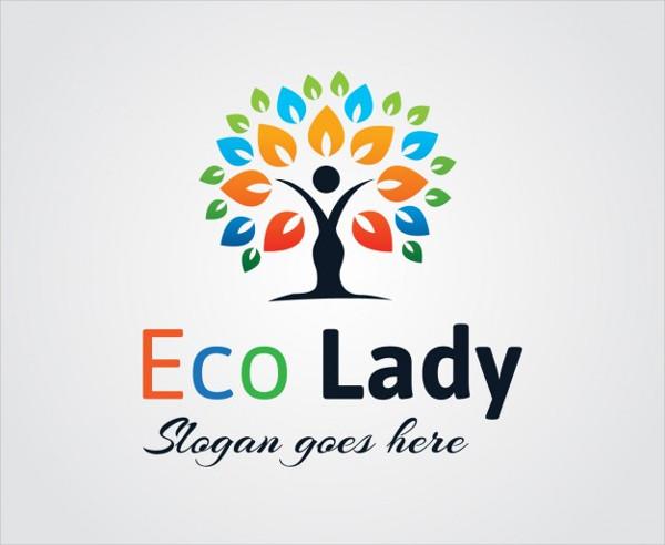 Eco Day Care Logo Free