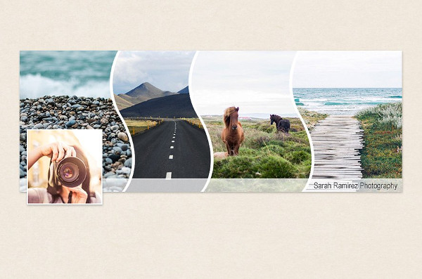 Editable Facebook Timeline Cover Template