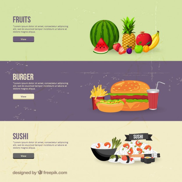 Sushi Food Banner Designs Free Download
