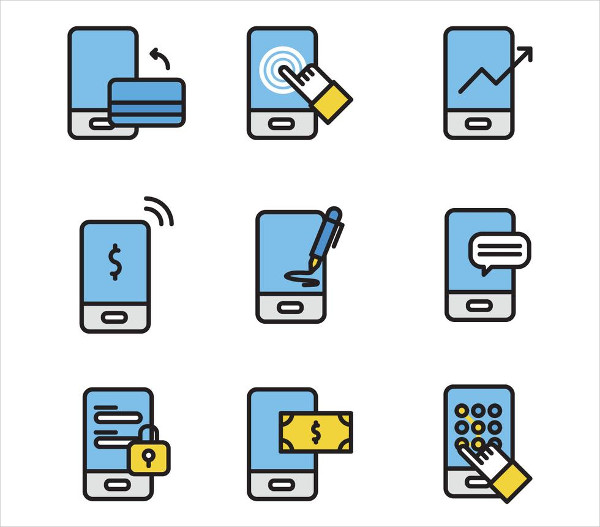 Free Outlined Set Of Payment Icons Download