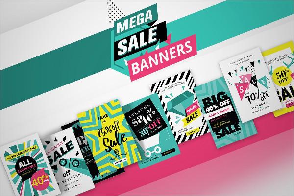 Modern Social Media Sale Banners