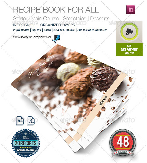 Recipe Book Template for All
