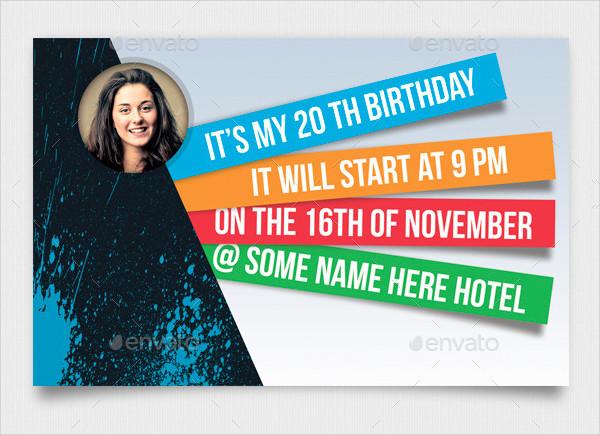 Best Birthday Invite Design