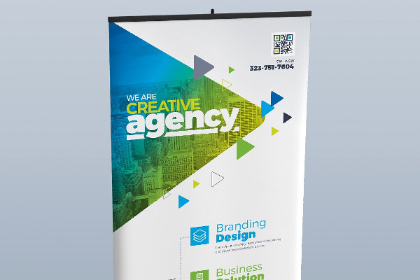 Digital Corporate Billboard Design