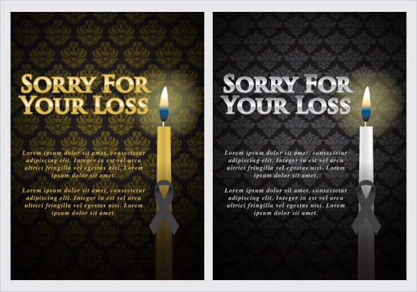 Funeral Invitation Template Free Download