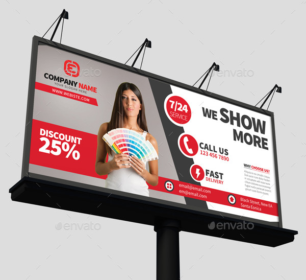 Professional Corporate Billboard Design