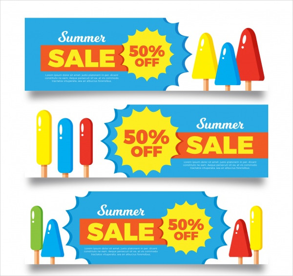 Summer Sale Banners Free Download
