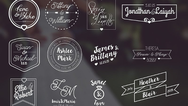 Wedding Label Templates