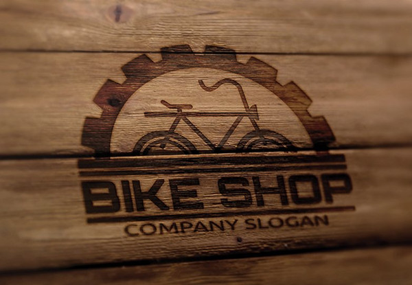 Easy to Edit Bike Shop Logo