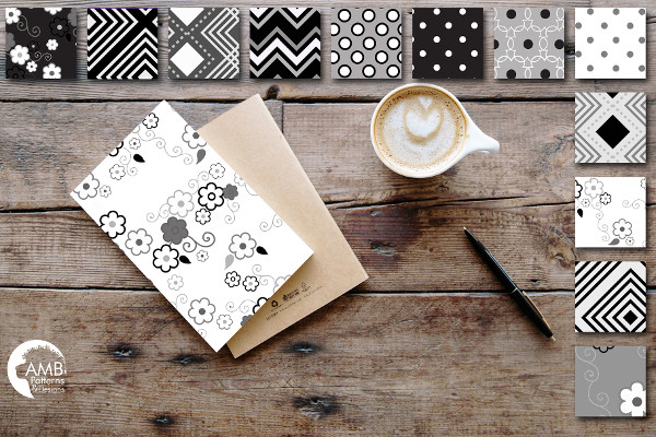 Cool Black and White Patterns
