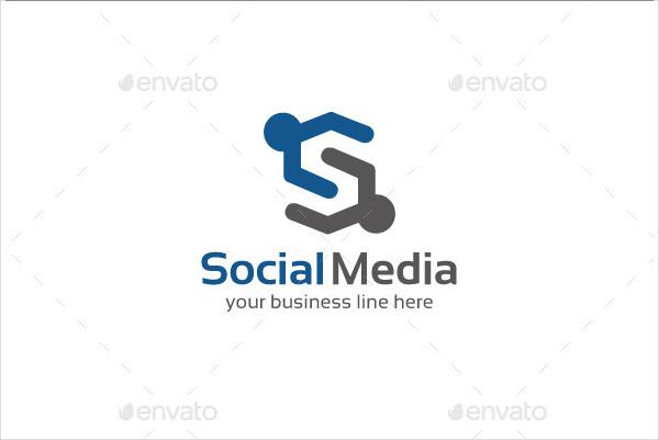 Cool Social Media Logo Template