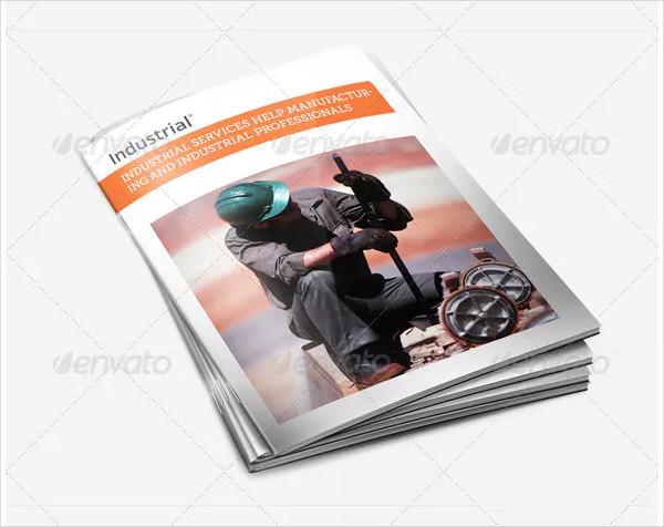 Industrial InDesign Brochure Template