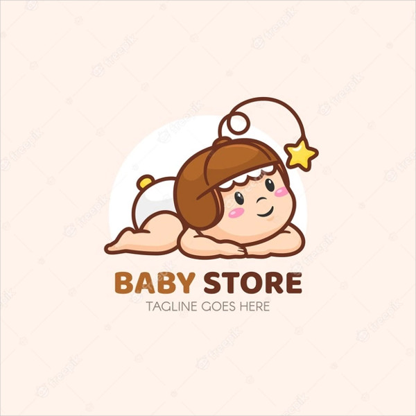 Baby Logo Template Free Download