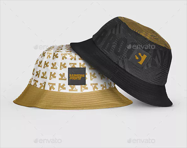 Clean Bucket Hat Mock-Up