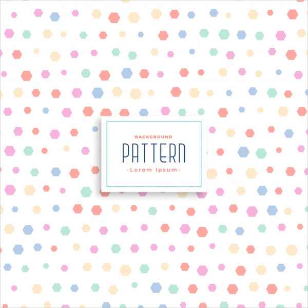 Cute Soft Kids Style Pattern Background Free