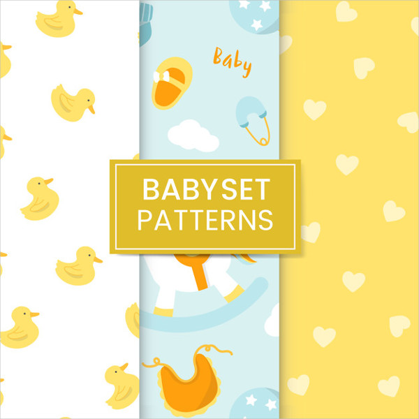 Nursery Pattern Set Free Download