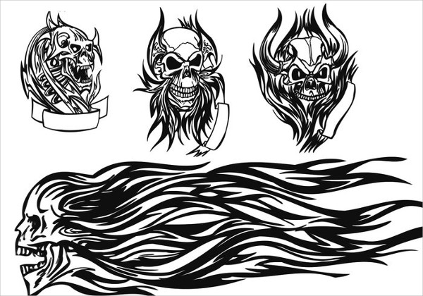 Skull Tattoo Brushes Free Download
