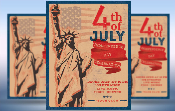4th Of July Independence Day Flyer or Poster