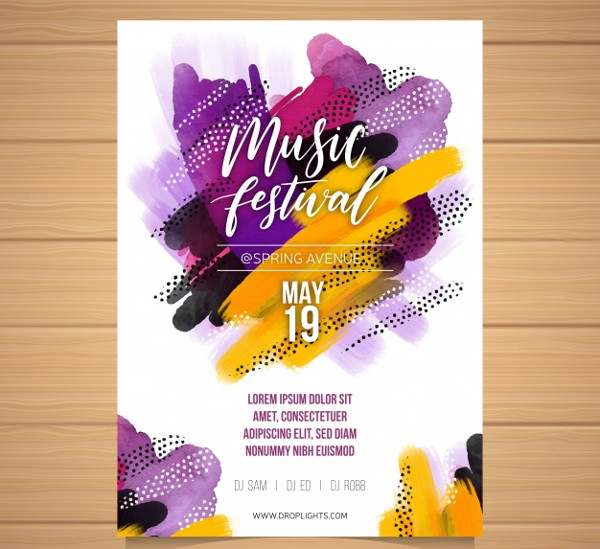 Band Flyer Template Free Download