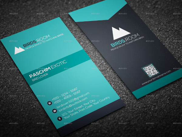 Printable Visiting Card Template