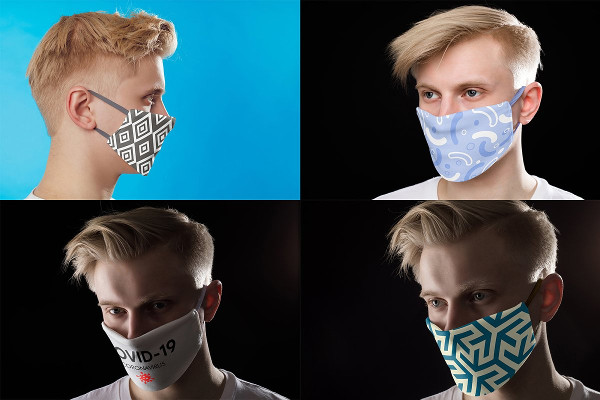 Medical Mask Mock-Ups Set