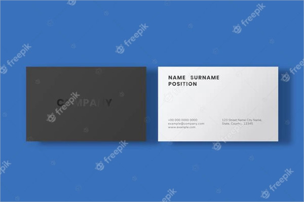 Simple Business Card Design Free Download