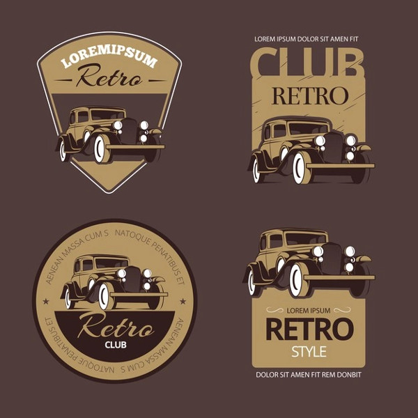 Collection of Emblem and Badge Illustration Free