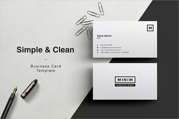 PSD Clean Stationery