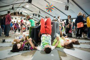 Creative Yoga with Richard Brook at Morning Glory